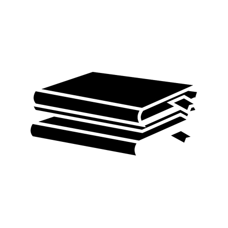 Books and education icon vector illustration graphic design Illustration