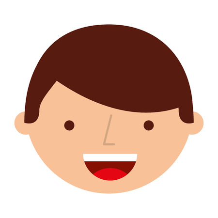 Young man avatar character vector illustration design. Illustration