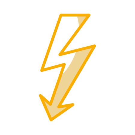 NErgie, rayon, avertissement, signe, vecteur, illustration, conception Banque d'images - 77585378
