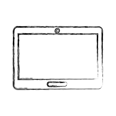 tablet device isolated icon vector illustration design Illustration