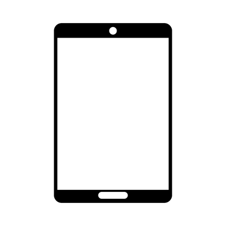 tablet device isolated icon vector illustration design Иллюстрация