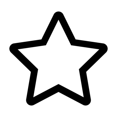 Star silhouette isolated icon vector illustration design.