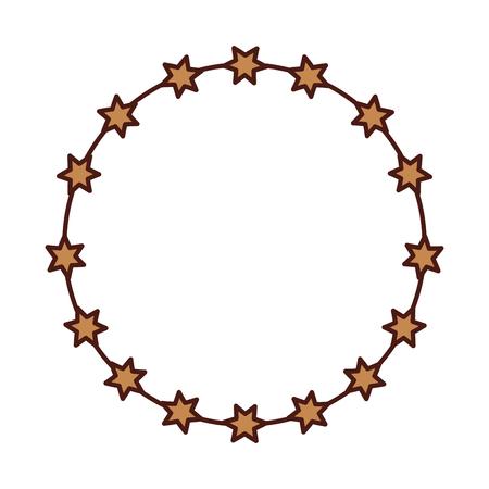 Corona de espinas icono de diseño de ilustración vectorial Foto de archivo - 77496330
