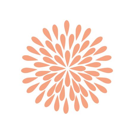 Beauiful garden flower icon vector illustration design