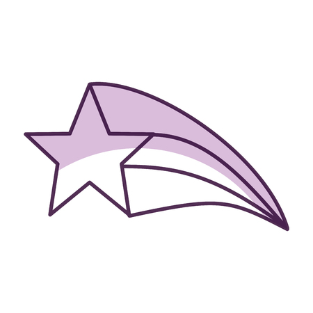 fantasy star isolated icon vector illustration design