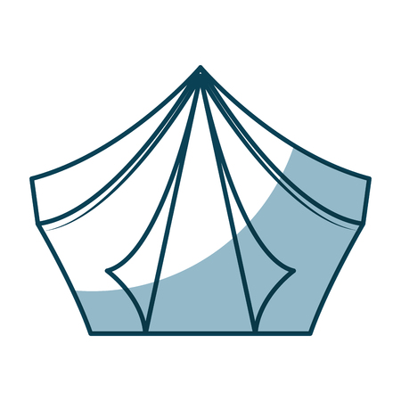 camping tent isolated icon vector illustration design Иллюстрация