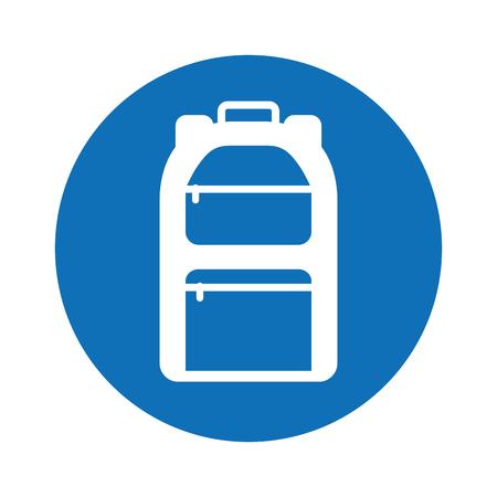 camping bag travel icon vector illustration design Stock Vector - 77530699
