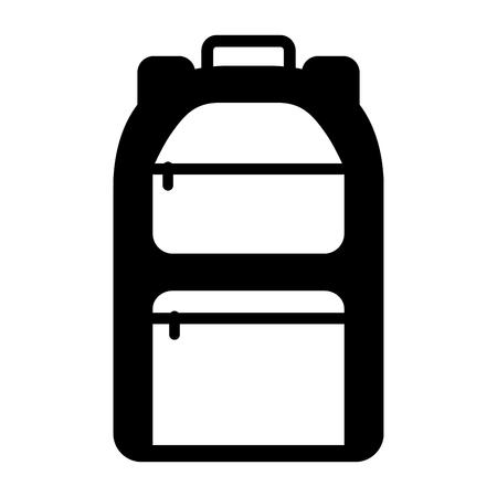 camping bag travel icon vector illustration design