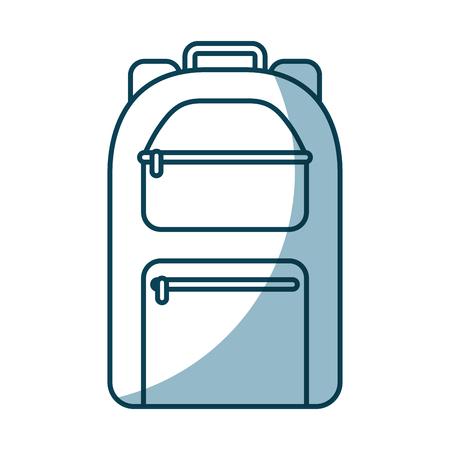 camping bag travel icon vector illustration design Stock Illustration - 77530974