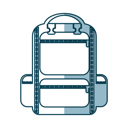 camping bag travel icon vector illustration design Stock Vector - 77530992