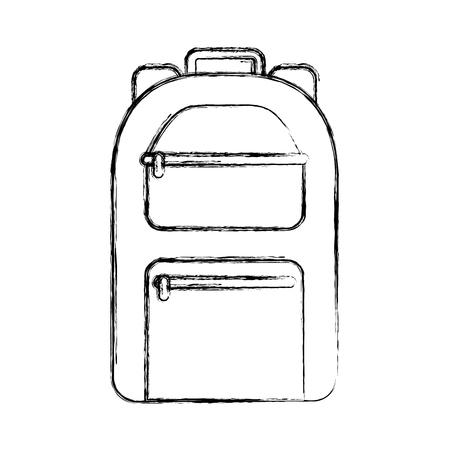 Camping tas reis pictogram vector illustratie ontwerp Stockfoto - 77531235
