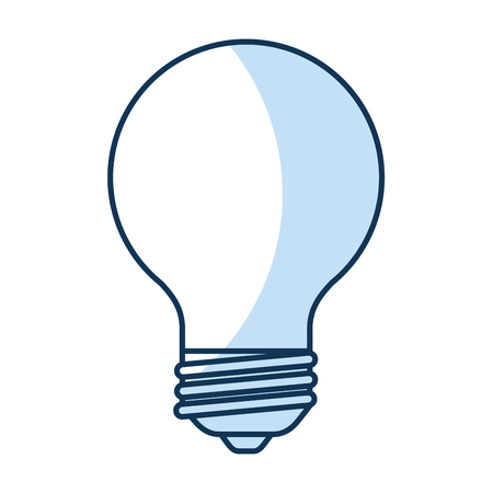 bulb light isolated icon vector illustration design Imagens