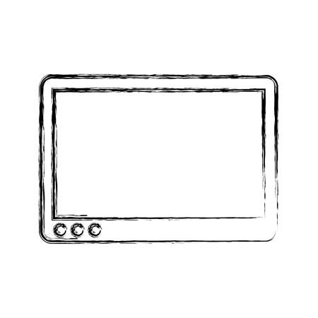 tablet device isolated icon vector illustration design Ilustrace