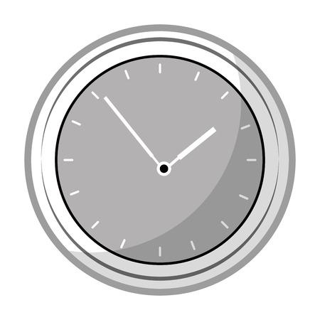 time clock application icon vector illustration design Иллюстрация