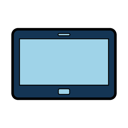 tablet device isolated icon vector illustration design Stock fotó - 77657773