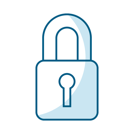 safe secure padlock icon vector illustration design