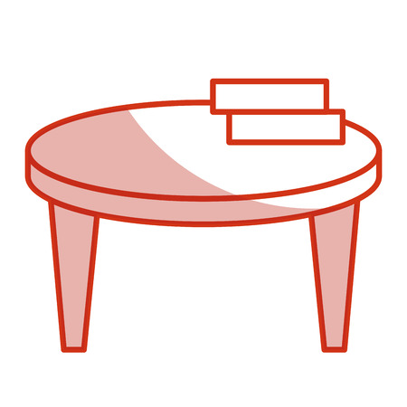 architect: school table with books isolated icon vector illustration design
