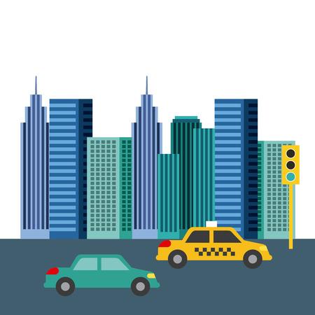 buildings city skyline image vector illustration design Stock Vector - 77708359