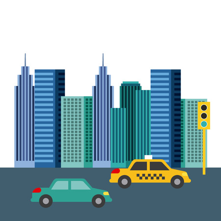buildings city skyline image vector illustration design