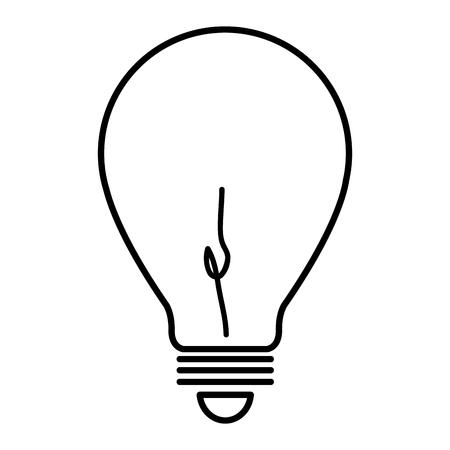 bulb light ecology icon vector illustration design Stock fotó - 77714441