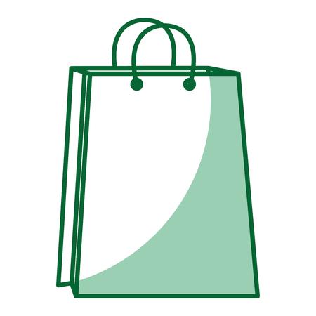 shopping paper bag icon vector illustration design Stock Photo