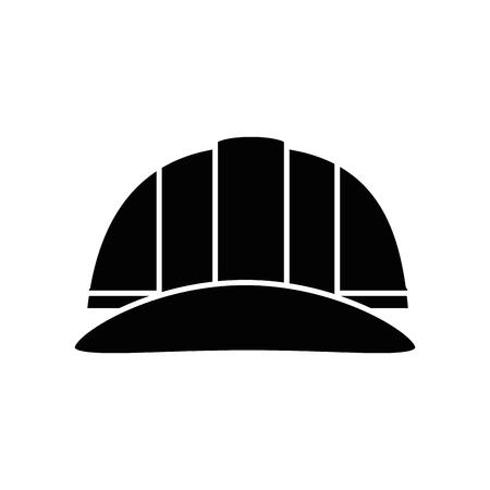 safety helmet icon over white background. vector illustration 版權商用圖片 - 77714481