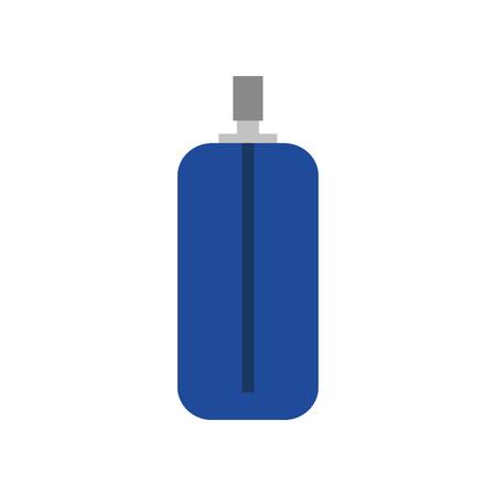 Spuitverf fles pictogram vector illustratie grafisch ontwerp