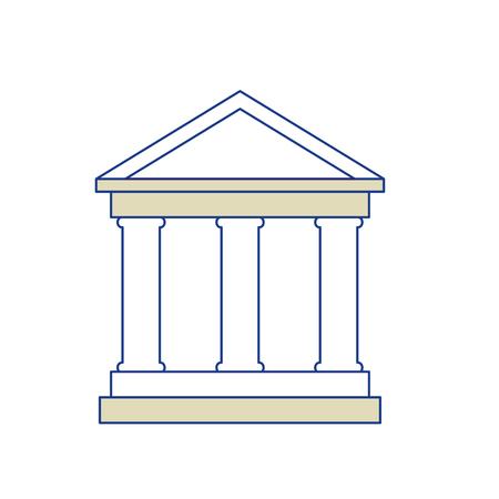 school symbool pictogram op witte achtergrond. vectorillustratie