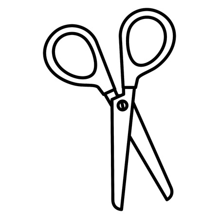scissors sewing isolated icon vector illustration design Stock Photo