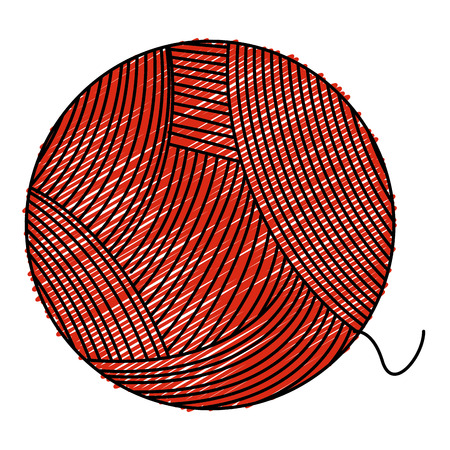 ball of wool icon vector illustration design