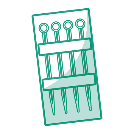 sewing Pins isolated icon vector illustration design Иллюстрация