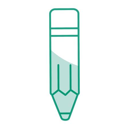 鉛筆学校分離アイコン ベクトル イラスト デザイン 写真素材
