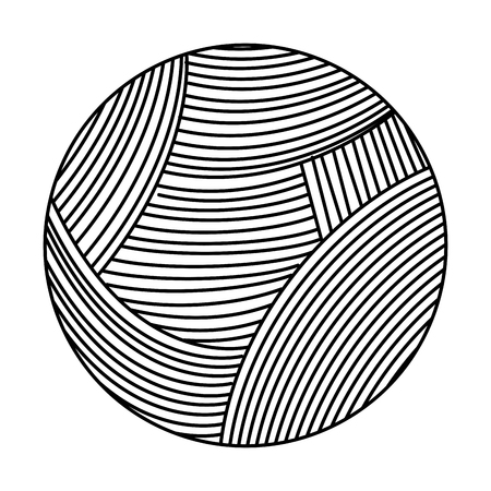 ball of wool icon vector illustration design