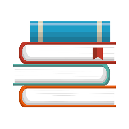 text books: text books isolated icon vector illustration design