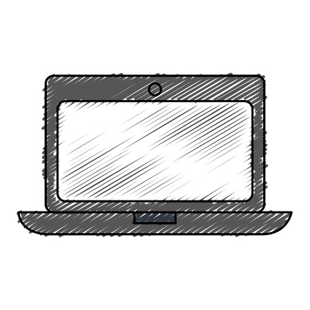 computer laptop isolated icon vector illustration design Stock Vector - 77794743