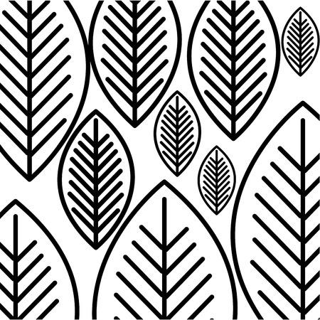 葉植物装飾アイコン ベクトル イラスト デザイン 写真素材