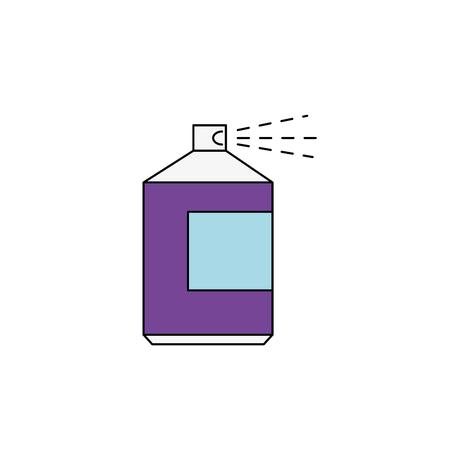 Paint spray bottle icon vector illustration graphic design Illustration