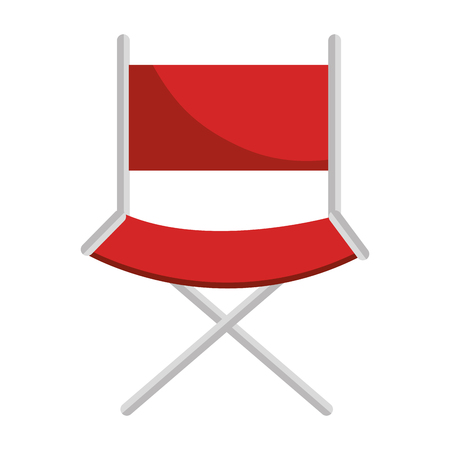 director chair isolated icon vector illustration design Ilustração