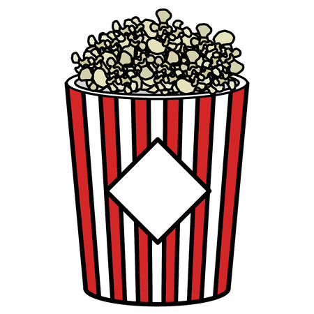 pop corn isolated icon vector illustration design Çizim