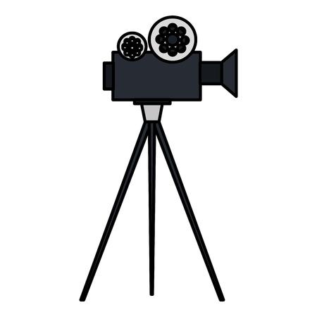 movie film: video camera cinema icon vector illustration design Illustration