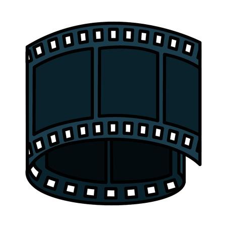 tape film isolated icon vector illustration design