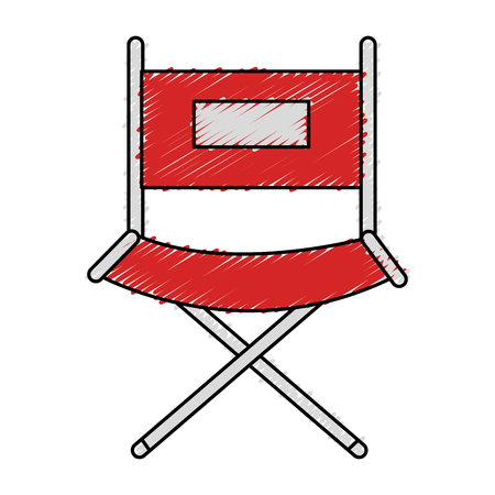director chair isolated icon vector illustration design Stok Fotoğraf - 77887960