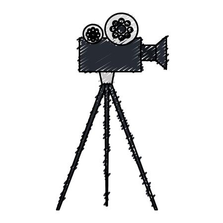 video camera cinema icon vector illustration design Illustration