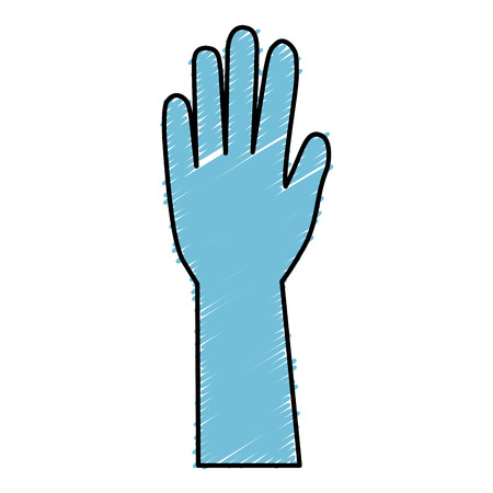 doctor gloves: surgical gloves isolated icon vector illustration design