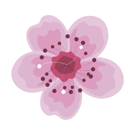 cute summer flower icon vector illustration design Çizim