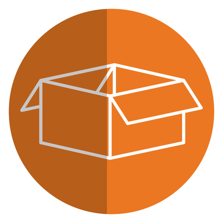 carton box packing icon vector illustration design Illustration