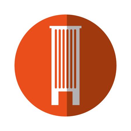 Urban building tower vecotr illustration graphic design