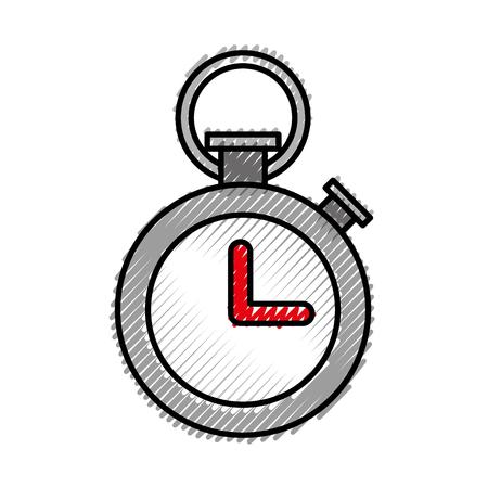 Sport timer clock vector illustration graphic design 版權商用圖片 - 77986932