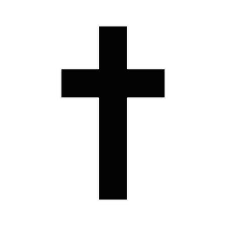 クリスチャン クロス シンボル アイコン ベクトル イラスト グラフィック デザイン