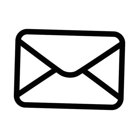 Email or mail symbol icon vector illustration graphic design Иллюстрация